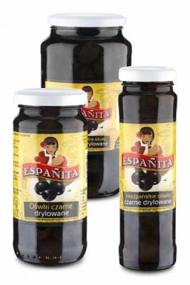 Oliwki czarne drylowane ESPANITA