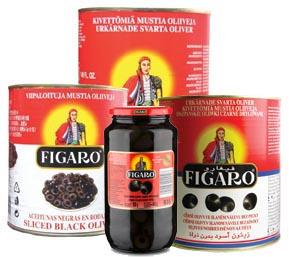 Oliwki czarne drylowane HoReCa i 935ml FIGARO