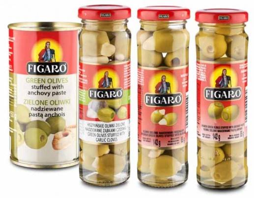 Oliwki nadziewane FIGARO