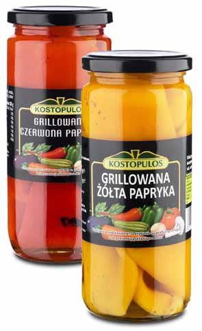 Papryka grecka grillowana 480g350g KOSTOPULOS